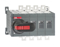 ABB ot160e04cfp 160 amp 4 pole change-over switch