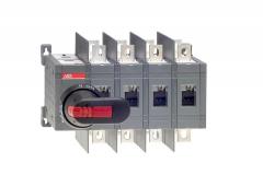 ABB ot160e04wcp 160 amp 4 pole change-over switch