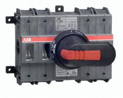 ABB ot160e4 160 amp 6 pole switch-disconnector