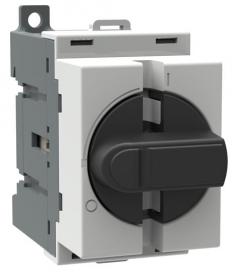 ABB ot40m3 40 amp 3 pole change-over switch