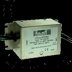 imo panel mount rfi filter 3phase, 400v, 15amp category c2