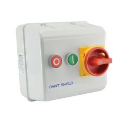 sq4-7.5p/is-dr-415v chint 7.5kw metal clad dol reversing starter 415v with isolator