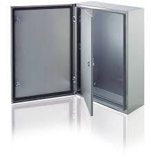 srn8625k abb electrical enclosure with blind door and back plate 800x600x250mm