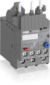 ABB tf42-38 thermal overload relay 35a - 38a