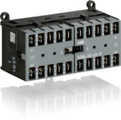 ABB vb6-30-01-f-01 24ac mini rev contactor 4kw