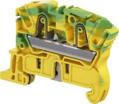 ZK4-PE - 4mm PUSH IN EARTH TERMINAL