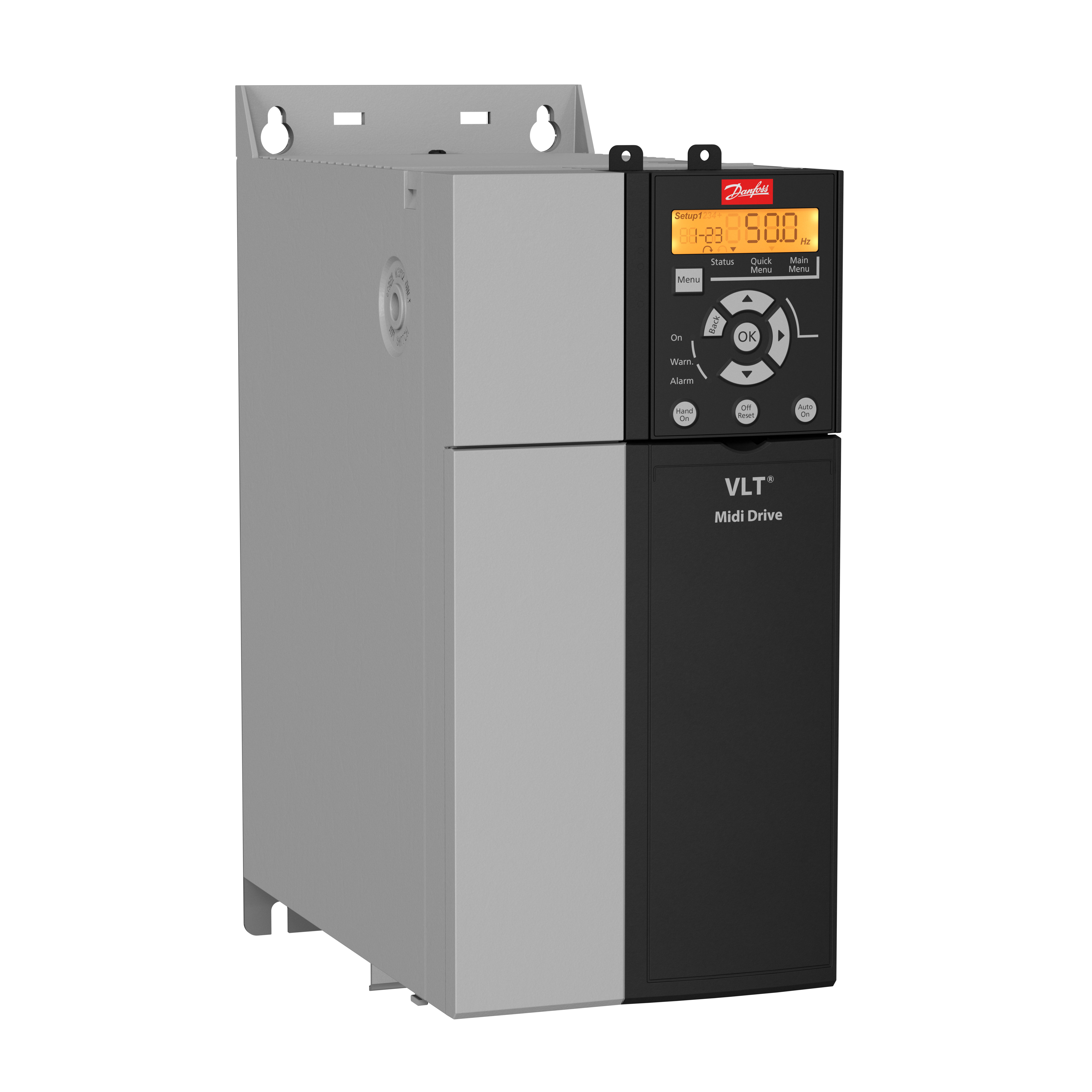 134U3010 Danfoss VLT Midi Drive FC 280 1.5 kW / 2.0 HP Three phase 380-480 VAC IP20