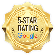 Rated 5 stars on Google